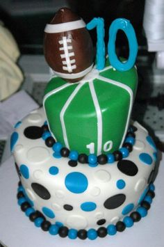 Panthers football cake