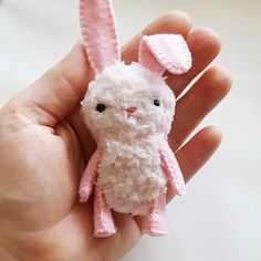 Sew your own adorable Easter bunny plush dolls with my printable PDF bunny  sewing pattern. 16494cd15fe3