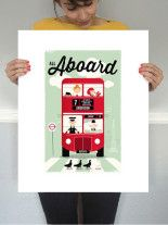 """All Aboard"" print 