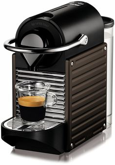 Nespresso C60-US-DB-NE Pixie Espresso Maker, Dark Brown * This is an Amazon Affiliate link. You can find more details by visiting the image link.