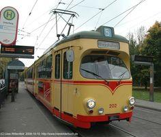 GT8 in Karlsruhe © Uwe Wittenfeld 2008-10-10
