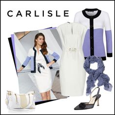 """""""MAGNOLIA WHITE and LAVENDER 