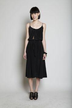 No. 6 Tie Front Dress $335.00