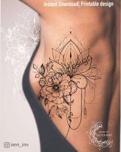 Feminine Tattoo Sleeves, Feminine Tattoos, Lace Sleeve Tattoos, Lace Flower Tattoos, Feminine Shoulder Tattoos, Lace Shoulder Tattoo, Floral Hip Tattoo, Flower Side Tattoos Women, Flower Tattoos On Shoulder