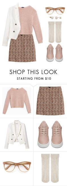 """""""Untitled #968"""" by lbenigni on Polyvore featuring Max&Co., H&M, MANGO, Filling Pieces, Wildfox and Accessorize"""