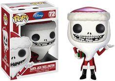 Funko POP Nightmare Before Christmas Santa Jack Skellington Vinyl Figure