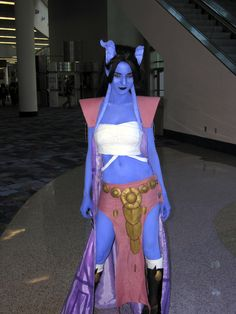 Draenei from World of Warcraft (concept art)