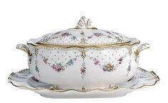 RoyalCrownDerby - Royal Antoinette Soup Tureen