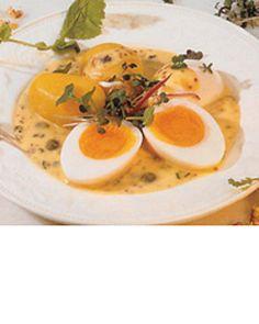 Senf Eier - German Mustard Eggs - Original Recipe in German http://www.deutsche-fruehstuecksei.de/experia-cgi/v2.2/viewhtml.pl?DescriptionFile=dfe-recipes.def=19=5_path==recipes_show_more_de=2=de