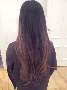 Balayage/Ombre by Jaelei Yang Scottfree Salon, Milwaukee Ombre on Asian hair
