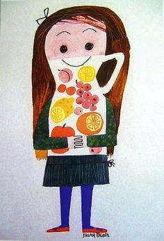Juice girl by Mary Blair