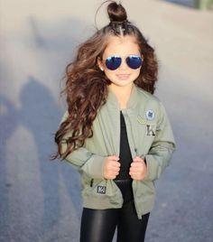 Kardashian kids, bomber jacket