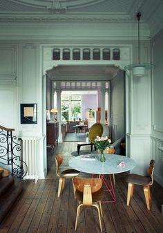 Interior and Exterior design, Home design Ideas and Inspirations Interior Design Kitchen, Interior Decorating, Ray Charles, Beautiful Interiors, Dining Area, Dining Room, Interior Inspiration, Interior Ideas, Interior Architecture