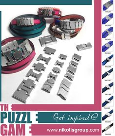order now metal castings and create collections 'puzzle games' @ www.nikolisgroup.com