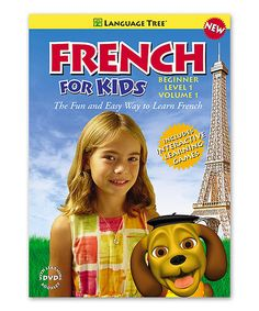 Look at this Beginner French for Kids Volume 1 DVD & Booklet on #zulily today!