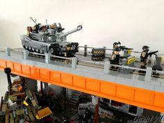 M1 Abrams on the bridge | by Devid VII
