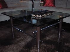 Forza Metal | Residential Coffee table with chromed bars  www.forzametal.com Custom Design, Furniture Design, Coffee, Metal, Modern, Table, Home Decor, Kaffee, Trendy Tree