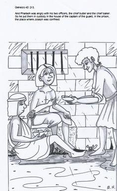 Joseph in the land of Egypt ~ Sunday School Ideas