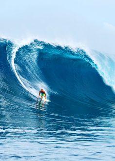 Surfing big