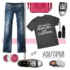 """""""My Style"""" by colierollers ❤ liked on Polyvore featuring Converse, Pepe Jeans London, 3.1 Phillip Lim, Marc Jacobs, Ellis Faas and Clinique"""
