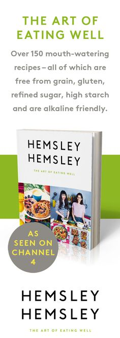 Jasmine and Melissa's first cookbook The Art Of Eating Well. Healthy Fit, Healthy Eating Recipes, Raw Food Recipes, Healthy Drinks, Diet Recipes, Recipies, Eating Clean, Eating Well, Hemsley And Hemsley