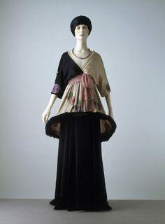 Sorbet By Paul Poiret, 1912 The Victoria  Albert Museum