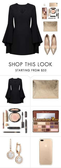 """Sin título #4866"" by mdmsb on Polyvore featuring moda, Whistles, Too Faced Cosmetics y Mémoire"