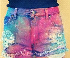 pretty space shorts *