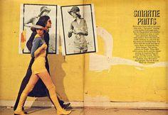 vintage layout