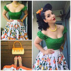 Miss Victory Violet Kleid in Übergröße Vintage Outfits, Retro Outfits, Classy Outfits, Vintage Dresses, Vintage Mode, Vintage Wear, Vintage Girls, Rockabilly Mode, Rockabilly Fashion