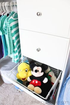Keeping your kids spaces organized can be tough, but with these 3 ways you will help your kids learn to be neater in no time!