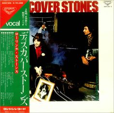 Vintage Vinyl Records, Lp Vinyl, Lps, Rolling Stones, Japanese, Album, Musica, Art, Japanese Language