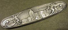 Vintage Winchester Germany Embossed Washington DC Souvenir Old Pocket Pen Knife #Winchester