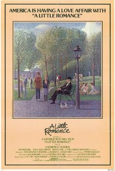 A Little Romance Poster. If only Seurat was still around to do movie posters...á la SUNDAY IN THE PARK WITH GEORGE.    http://meansheets.com/2011/01/06/romancing-the-seurat/