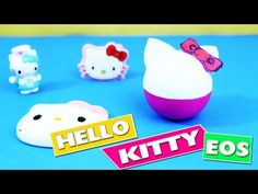 DIY | EOS Hello Kitty Lip Balm - In 1 Minute - simplekidscrafts - YouTube