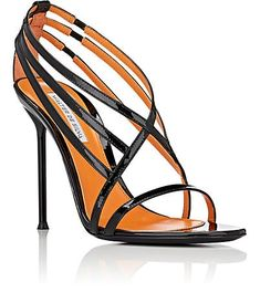 Walter De Silva Patent Leather Strappy Sandals - Heels - 505062807