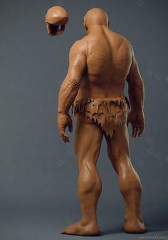 ArtStation - Neanderthal, Adam Sacco