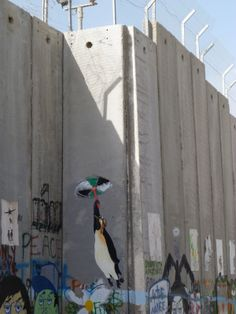 PHOTO: #Israel illegal Wall in occupied #Bethlehem, where 2 children have today been injured by #IDF