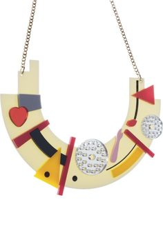 Original Jewellery Handmade in the UK Bauhaus Style, Tatty Devine, Design Movements, Enamels, Costume Jewelry, Jewelry Collection, Lust, Robot, Pop Culture