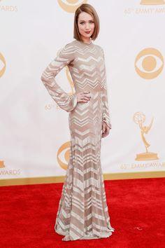 Premios Emmy 2013 Kristen Connolly in Nicolas Oakell