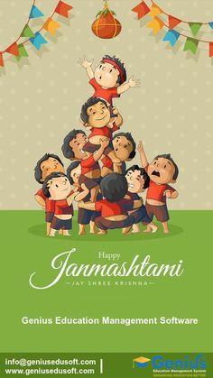 Genius wishes you Happy Janmashtami.