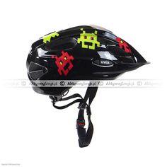 Kask dla dziecka Uvex Quatro Junior Packman Bicycle Helmet, Hats, Hat, Cycling Helmet, Hipster Hat