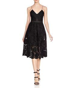 N Nicholas Sunflower Lace Dress