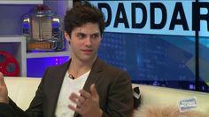 The faces he makes are adorable! -Matt Daddario