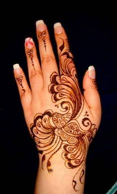 10 BEst Back Hand Mehndi Designs For Any Occasion – Fans of Fashion