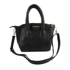 27c596bc77 Women s Stylish Handbag Split-Leather With Shoulder Strap and Zipper Purse