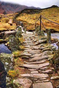 Packhorse Bridge, England