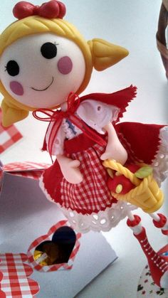 Little Red Riding Hood Birthday Party Ideas!  See more party ideas at CatchMyParty.com!