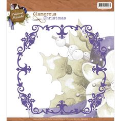 Find It Trading Precious Marieke Die - Glamorous Christmas - Christmas Frame