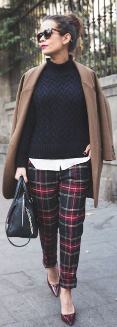 9 winter outfit ideas for the office - Page 2 of 9 - women-outfits.com
